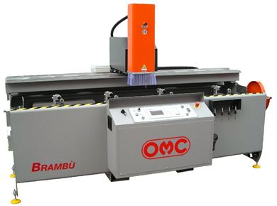 Machines for processing aluminum, PVC and steel profiles | OMC Machinery
